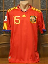 SPAIN NATIONAL TEAM HOME JERSEY SHIRT WORLD CUP 2010