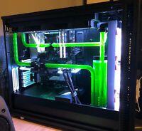 Custom Hardline Liquid Cooled Gaming PC - i9 9900k - RTX 2080 - 32GB RAM RGB