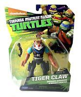 Tiger Claw TMNT Teenage Mutant Ninja Turtles Action Figure New 2014 Nickelodeon