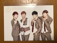BTS 1st Fan Meeting official Japan jungkook tete jimin j-hope photo card 1 sheet