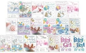 New Baby / Baby Shower Card / Baby Boy / Girl Congratulations / New Arrival