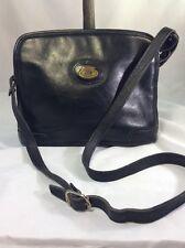 VTG Etienne Aigner Black Leather Crossbody/Shoulder Bag