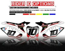 2009 2010 2011 2012 HONDA CRF 450R BACKGROUND NUMBER PLATE BOARD GRAPHICS DECAL