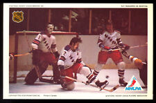 1971-72 NHLPA PRO STAR PROMOTIONS PHOTO ED GIACOMIN BRAD PARK Rangers vs Bruins