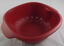 Tupperware C 194 WarmieTup Warmie Tup Sieb Siebeinsatz 2,25 l Rot Neu OVP