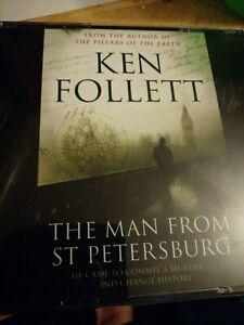KEN FOLLETT - THE MAN FROM ST. PETERSBURG - 3 CD AUDIO BOOK SET