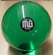 14# (Blast from the PAST) MIKASA mg ACRYLIC Green Clear Bowling Ball