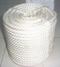 """1/2""""x200' Twisted 3 Strand Nylon Rope with Thimble"""