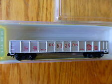 Model Power N #3061 (Rd #2207) 50' Gondola Southern (Silver, Red Lettering)