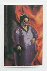 "OTTO DIX: ""Johanna Ey"",1924,   Kunst-Postkarte / auch mit Rahmen"