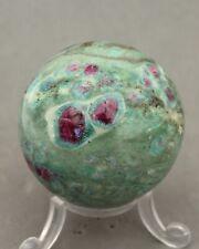 Ruby & Fuschite  Crystal Sphere 50mm in Diameter