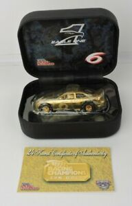 Mark Martin #6 Eagle One 24kt Gold Racing Champions 1/64 Club Only