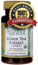 Tè verde estratto 500 mg x 60 Capsule Salute Dieta Perdita Peso, antiossidante