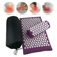 Lotus Acupuncture Massage Pads Relief Body Stress Pain Acupressure Cushion Mat