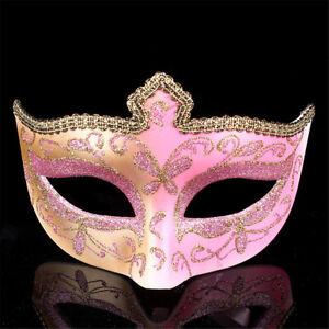 Half Face Venetian Mask Masquerade Party Fancy Dress Halloween Gift Women Lady
