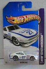 2013 HOT WHEELS HW SHOWROOM #159/250 DATSUN 240Z WHITE 1:64 3+ ASPHALT ASSAULT