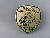 American Junior Rangers Pin - Oregon Junior Ranger - Plastic Shield Pin