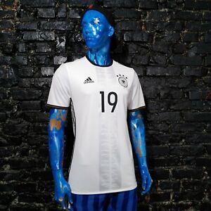 Germany Team Player Issue Home football shirt 2016-2017 Adidas AI5015 Mens 8 UA1
