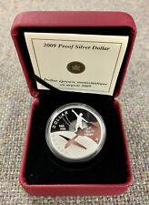 2009 Canada Proof Silver Dollar 100th Anniversary of Flight in Canada