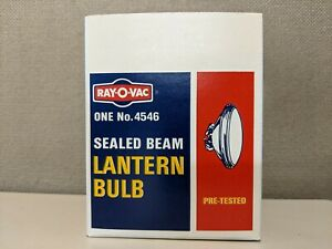 4546 RAY-O-VAC SEALED BEAM LANTERN BULB USA