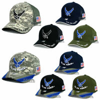 U.S. AIR FORCE hat USAF Eagle Logo Official Licensed Mesh / Cotton Baseball cap