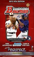 2013 Bowman Baseball Complete Your Set Pick 25 Cards From List