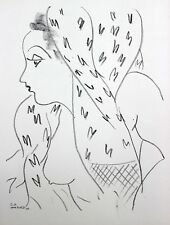 Henri Matisse Lithograph Drawing / Dessins L17  Limited First Edition 1943 Rare