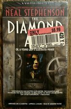 The Diamond Age by Neal Stephenson Audiobook on 4 Cassette Tapes New Sealed