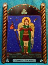 ARCHANGEL RAPHAEL RETABLO - Heavens Physician