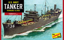Lindberg 1:520 US Navy Tanker Plastic Model Kit 438 LND438