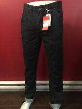 JACKTHREADS Men's Dark Rinse White Nep Denim Carpenter Jeans- Size 31W x 34L NWT