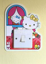 Hello Kitty Light Switch Cover Sticker Glow In Dark Girls Room Decoration