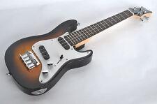 Ténor Ukulélé électrique Corps Solide cordes en acier Twin Pickup stratocaster guitar