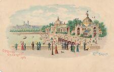 1900 Paris Exposition Rive Droite Advertising Postcard – udb