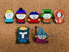 Set Of 7 South Park Enamel Pins - Brand New Butters, Stan, Eric, Kyle, Kenny