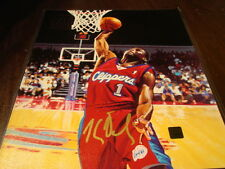 Keyon Dooling Autograph / Signed 8 x 10 Photo 2000-01 Topps Reserve Canvas Photo