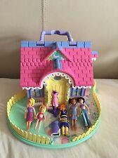 Blue Bird House With Dolls