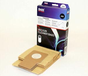 5 x PAPER BAGS FIT PANASONIC UPRIGHT MC-E3001 MC-E3002 Vacuum Cleaner HS95