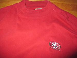 Starter SAN FRANCISCO 49ers Embroidered (2XL) Heavy Long Sleeve Shirt