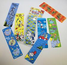 "16 Dr. Seuss Bookmarks 8 Designs 7.25"" Raymond Geddes Teaching Supplies School"