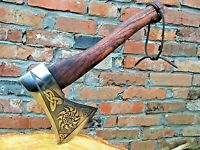 Handmade Viking axe, tomahawk, hatchet, mens gifts, medieval axe