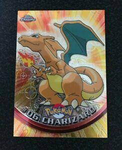 Pokemon Topps Chrome Holo #06 Charizard Mint/NM