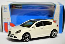 ALFA ROMEO GIULIETTA 1:43 Car NEW Model Diecast Models Die Cast Metal White