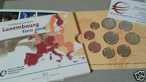 2008 LUSSEMBURGO 9 monete 5,88 EURO Luxembourg Luxemburg Luxemburgo Люксембург