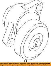 FORD OEM-Serpentine Fan Belt Tensioner F77Z6B209AA