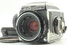 【N MINT】 Zenza Bronica S2 Body + Nikkor P 7.5cm 75mm F/2.8 Lens From JAPAN #766