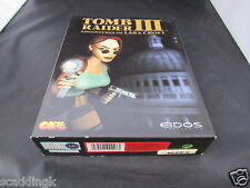 GIOCO PC TOMB RAIDER III 3 avventure di Lara Croft BIG BOX COMPLETO