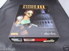 PC Game Tomb Raider III 3 Adventures of Lara Croft Big Box Complete