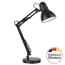 Arbeitsplatzlampe Schreibtischleuchte Bürolampe Tischlampe mit Gelenk aus Metall