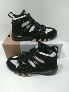 Nike Air Max 2 CB 94 Charles Barkley White Black 305440-006 Size 8.5